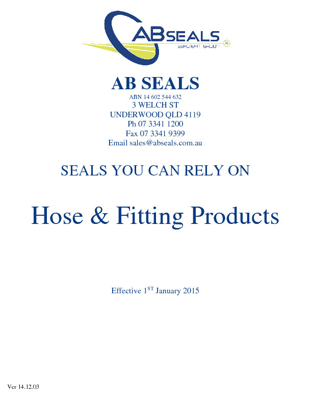 thumbnail of AB Seals – Fitting Catalogue (Ver 141203E)
